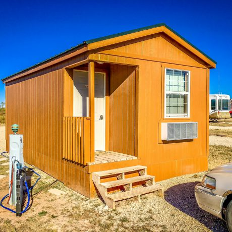 Cabin at West Texas Friendly RV Park