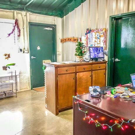 Indoor Office at West Texas Friendly RV Park