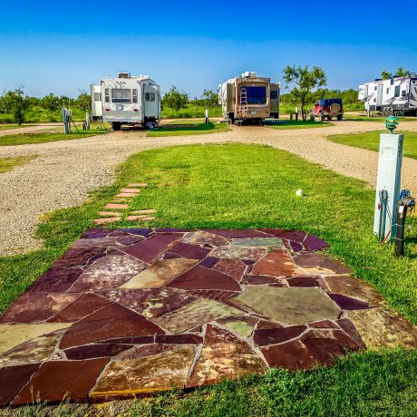 RV Lot at West Texas Friendly RV Park