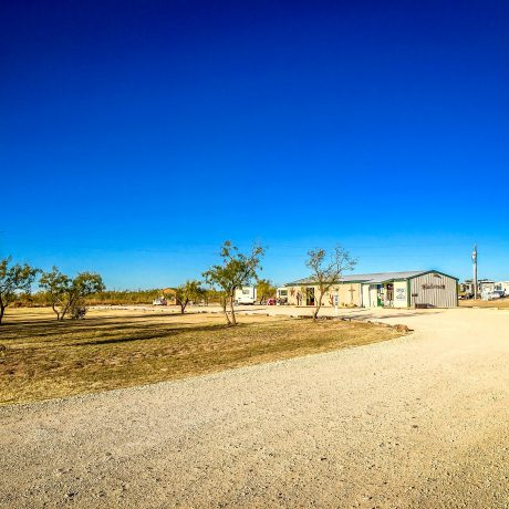Entrance to West Texas Friendly RV Park