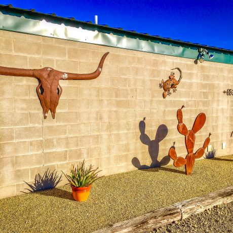 Outdoor Decorations at West Texas Friendly RV Park